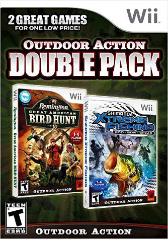 Remington Great America Bird Hunt / Shimano Xtreme Fishing (Dual Pack) (NINTENDO WII) NINTENDO WII Game
