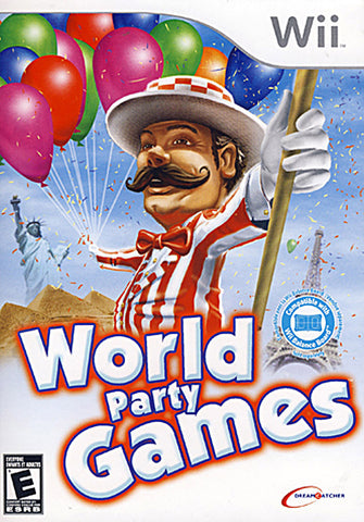 World Party Games (Bilingual Cover) (NINTENDO WII) NINTENDO WII Game