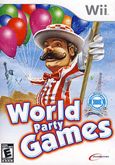World Party Games (Bilingual Cover) (NINTENDO WII)