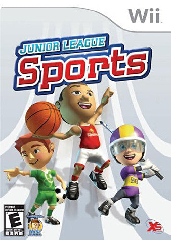 Junior League Sports (NINTENDO WII) NINTENDO WII Game