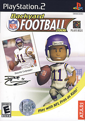 Backyard Football 2006 (Limit 1 copy per client) (PLAYSTATION2) PLAYSTATION2 Game