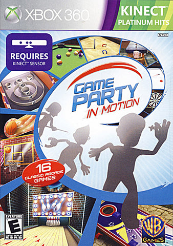 Game Party - In Motion (Kinect) (XBOX360) XBOX360 Game