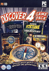 Discover 4 Game Pack - 4 Globetrotting Mystery Adventures (PC)