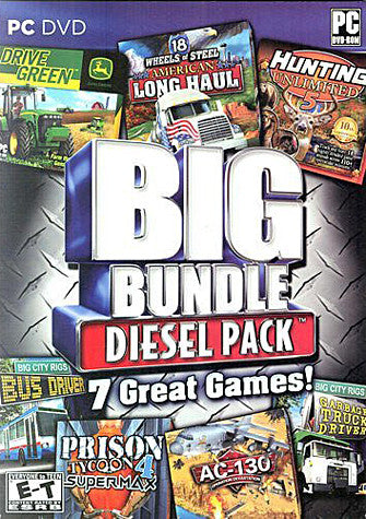 Big Bundle Diesel Pack - 7 Great Games (PC) PC Game
