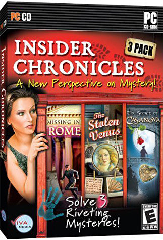 Insider Chronicles Triple Pack - A New Perspective on Mystery (PC) PC Game
