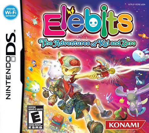 Elebits - The Adventures of Kai and Zero (Bilingual Cover) (DS) DS Game