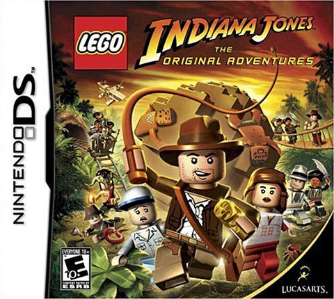 Lego Indiana Jones - The Original Adventures (DS) DS Game