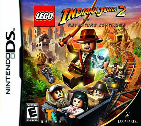 LEGO Indiana Jones 2 - The Adventure Continues (Bilingual Cover) (DS) DS Game