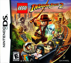 LEGO Indiana Jones 2 - The Adventure Continues (Bilingual Cover) (DS)