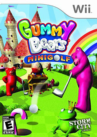 Gummy Bears - Mini Golf (NINTENDO WII) NINTENDO WII Game