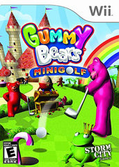 Gummy Bears - Mini Golf (NINTENDO WII)