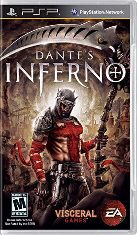Dante's Inferno (French Version Only) (PSP) PSP Game