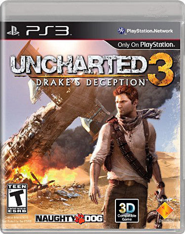 Uncharted 3 - Drake's Deception (PLAYSTATION3) PLAYSTATION3 Game