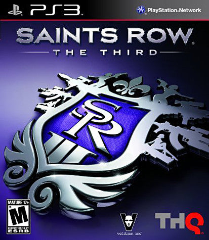 Saint's Row - The Third (PLAYSTATION3) PLAYSTATION3 Game