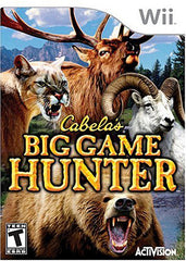 Cabela's - Big Game Hunter (NINTENDO WII)