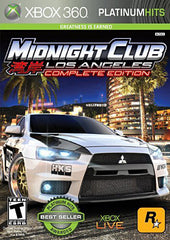 Midnight Club - Los Angeles Complete Edition (Platinum Hits) (XBOX360)