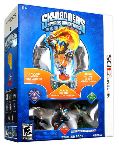Skylanders Spyro's Adventure Starter Pack (3DS) 3DS Game