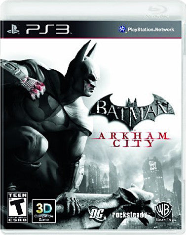 Batman - Arkham City (PLAYSTATION3) PLAYSTATION3 Game