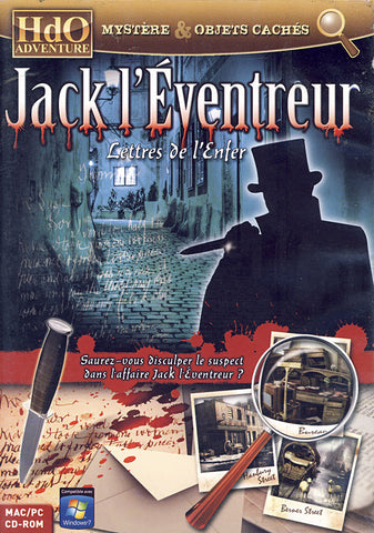Jack L'Eventreur - Lettres De L'Enfer (French Version Only) (PC) PC Game