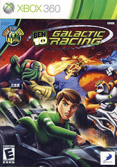 Ben 10 - Galactic Racing (Trilingual Cover) (XBOX360)