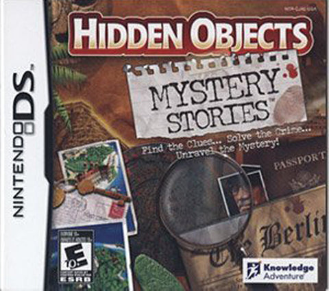 Hidden Objects - Mystery Stories (DS) DS Game