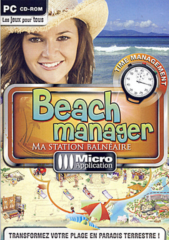 Beach Manager - Ma Station Balneaire (French Version Only) (PC) PC Game