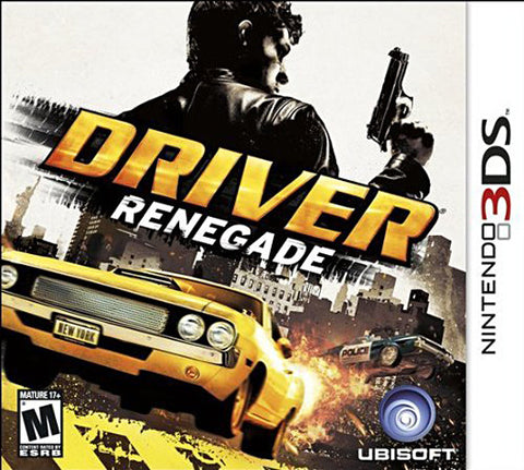 Driver - Renegade (3DS) 3DS Game