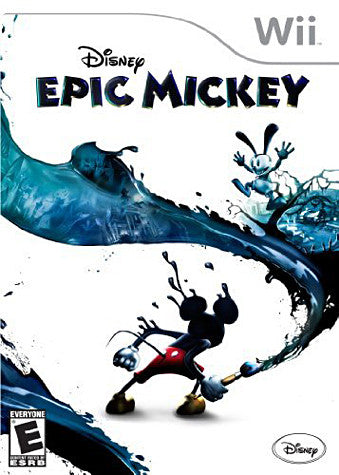 Disney Epic Mickey (NINTENDO WII) NINTENDO WII Game