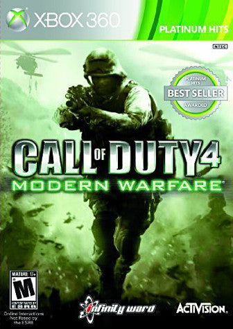 Call of Duty 4 - Modern Warfare (XBOX360) XBOX360 Game