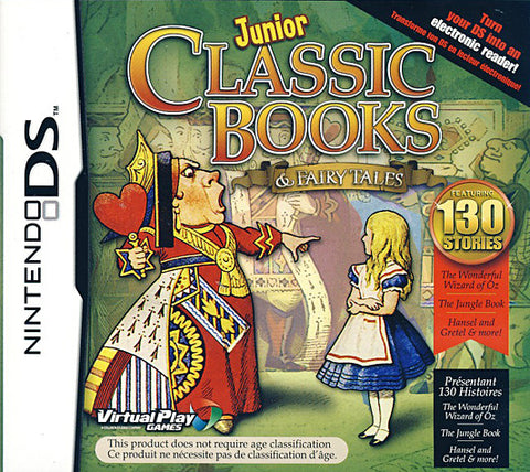 Junior Classic Books and Fairytales (DS) DS Game