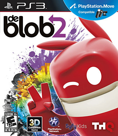 De Blob 2 (Playstation Move) (PLAYSTATION3) PLAYSTATION3 Game