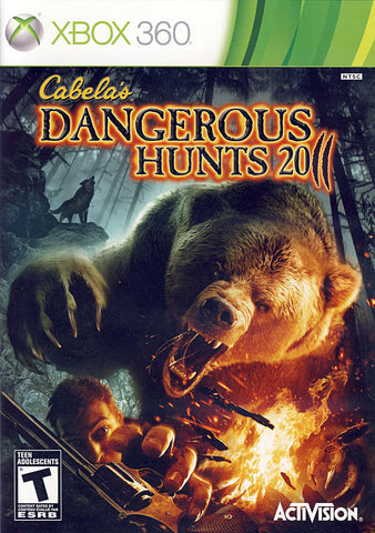 Cabela s Dangerous Hunts 2011 (Bilingual Cover) (XBOX360) XBOX360 Game