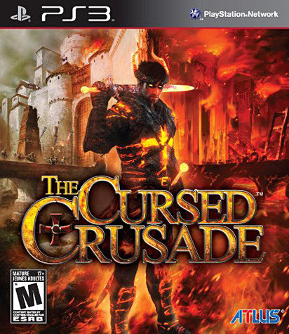 The Cursed Crusade (Bilingual Cover) (PLAYSTATION3) PLAYSTATION3 Game