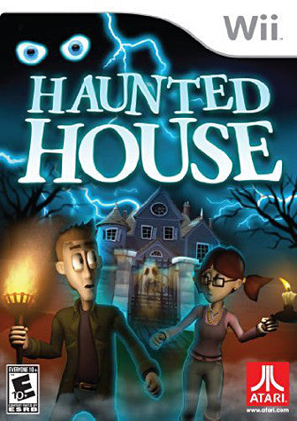 Haunted House (Bilingual Cover) (NINTENDO WII) NINTENDO WII Game