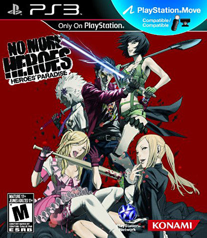 No More Heroes - Heroes' Paradise (Playstation Move) (PLAYSTATION3) PLAYSTATION3 Game