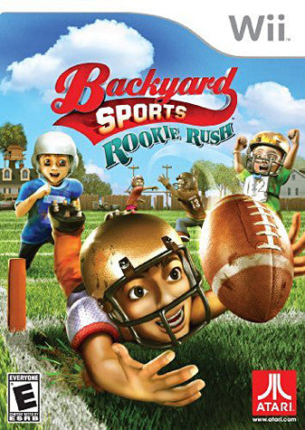 Backyard Sports Football - Rookie Rush (NINTENDO WII) NINTENDO WII Game