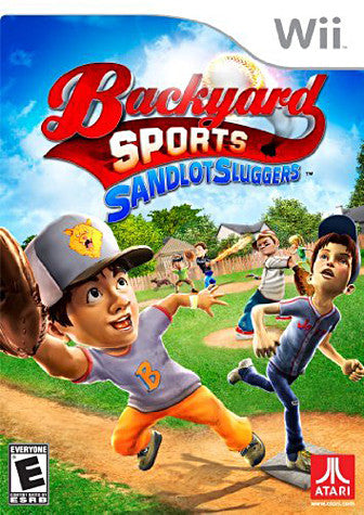 Backyard Sports - Sandlot Sluggers (NINTENDO WII) NINTENDO WII Game