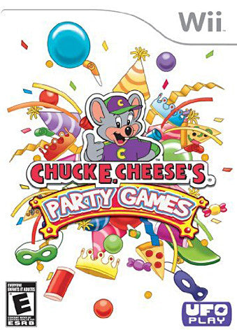 Chuck E Cheese's - Party Games (NINTENDO WII) NINTENDO WII Game