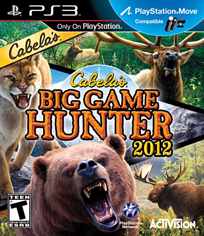 Cabela s Big Game Hunter 2012 (PLAYSTATION3) PLAYSTATION3 Game