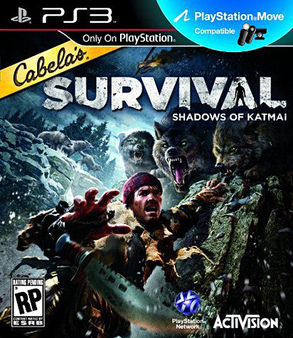 Cabela's Survival - Shadows of Katmai (PLAYSTATION3) PLAYSTATION3 Game