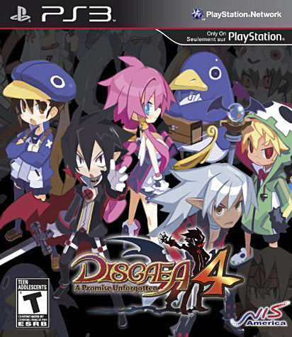 Disgaea 4 - A Promise Unforgotten (Premium Edition) (PLAYSTATION3) PLAYSTATION3 Game
