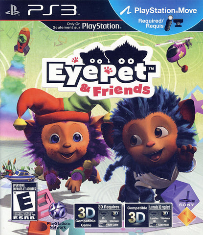 EyePet and Friends (Playstation Move) (Bilingual Cover) (PLAYSTATION3) PLAYSTATION3 Game