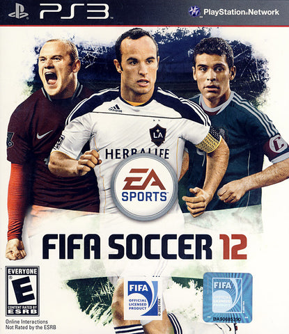 FIFA Soccer 12 (Bilingual Cover) (PLAYSTATION3) PLAYSTATION3 Game
