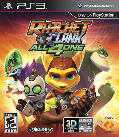 Ratchet and Clank - All 4 One (PLAYSTATION3) PLAYSTATION3 Game