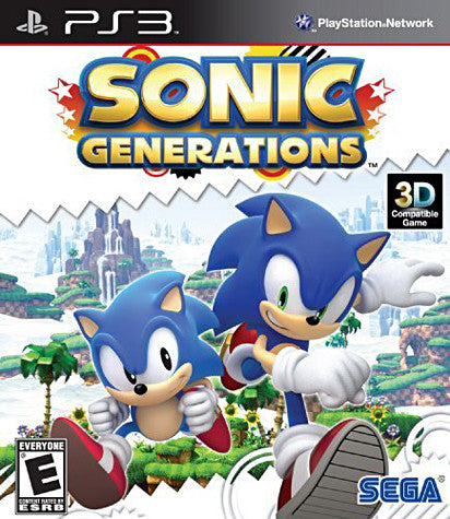 Sonic Generations (PLAYSTATION3) PLAYSTATION3 Game