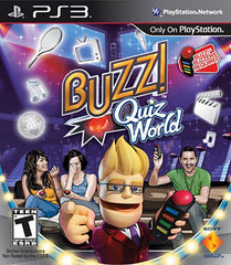 Buzz! Quiz World (Game Only) (Bilingual Cover) (PLAYSTATION3)