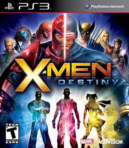 X-Men - Destiny (PLAYSTATION3) PLAYSTATION3 Game