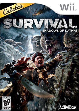Cabelas Survival - Shadows of Katmai (NINTENDO WII) NINTENDO WII Game