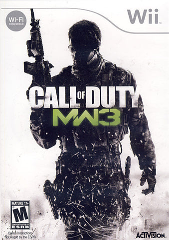 Call of Duty - Modern Warfare 3 (NINTENDO WII) NINTENDO WII Game