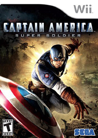 Captain America - Super Soldier (NINTENDO WII) NINTENDO WII Game